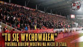"""""""TU SIĘ WYCHOWAŁEM"""" – piosenka kibiców Widzewa na meczu ze Stalą [NAPISY] (01.12.2018 r.)"""