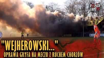 """""""WEJHEROWSKI"""" – oprawa Gryfa na meczu z Ruchem Chorzów (13.04.2019 r.)"""