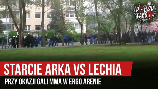 Starcie Arka vs Lechia przy okazji gali MMA w ERGO Arenie (18.05.2019 r.)