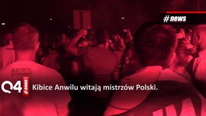 Kibice Anwilu Włocławek witają Mistrzów Polski (14.06.2019 r.)