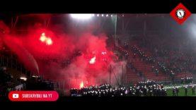 Policja vs Ultras Silesia | Zadyma, awantura, sektor gości | Widzew Łódź – Śląsk Wrocław, 24.09.2019
