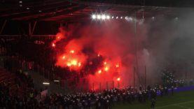 Widzew Łódź – Śląsk Wrocław (zadyma) – 24.09.2019