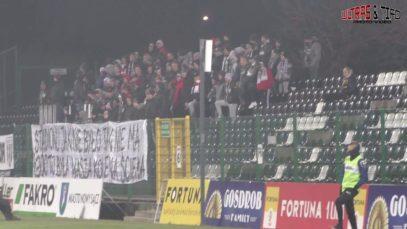 PL: Sandecja Nowy Sącz – Puszcza Niepołomice [Fans]. 2019-11-30
