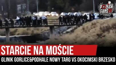 Starcie na moście: Glinik Gorlice&Podhale Nowy Targ vs Okocimski Brzesko (03.11.2019 r.)