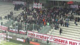 PL: Cracovia – Raków Częstochowa [Fans]. 2019-12-05