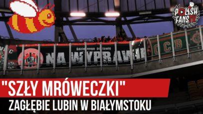 """""""SZŁY MRÓWECZKI"""" – Zagłębie Lubin w Białymstoku (07.12.2019 r.)"""