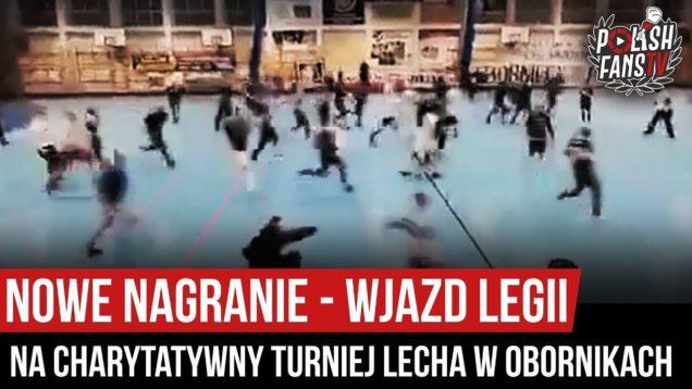NOWE NAGRANIE – wjazd Legii na charytatywny turniej Lecha w Obornikach (18.01.2020 r.)