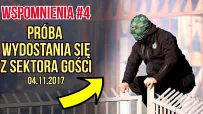 WSPOMNIENIA #4 – próba wydostania się z sektora gości na meczu Jastrzębie – ROW (04.11.2017 r.)