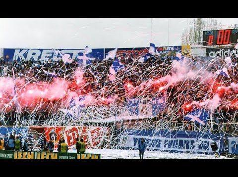 Lech Poznań – Legia Warszawa (25.03.2000) KIBICE