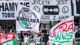 Doping na meczu Legii z Piastem Gliwice (27.06.2020 r.)