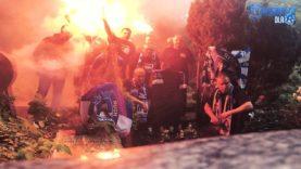 Fan Club Deutschland na grobie Ernesta Wilimowskiego (23.06.2020 r.)