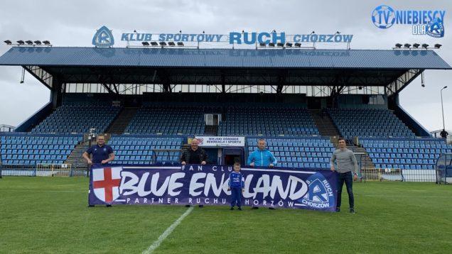 Blue England wspiera Ruch (11.07.2020 r.)