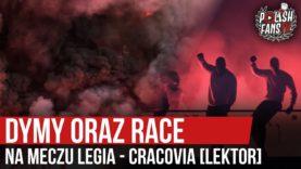 Dymy oraz race na meczu Legia – Cracovia [LEKTOR] (11.07.2020 r.)