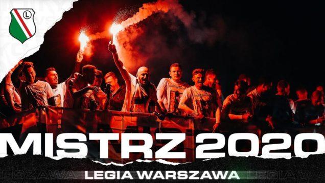 LEGIA MISTRZEM POLSKI! Tak świętuje Legia!