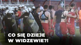 Nerwowo w Widzewie. Trener zwolniony, piłkarze zaatakowani!