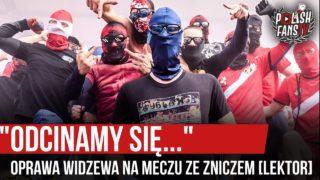 """""""ODCINAMY SIĘ…"""" – oprawa Widzewa na meczu ze Zniczem [LEKTOR] (25.07.2020 r.)"""