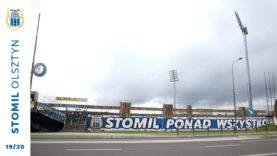 """""""Stomil Ponad Wszystko"""" – graffiti kibiców Stomilu Olsztyn"""