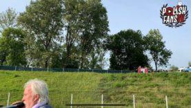 Awantura z policją pod stadionem Szombierek (13.09.2020 r.)