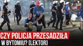 Czy policja przesadziła w Bytomiu? [LEKTOR] (13.09.2020 r.)