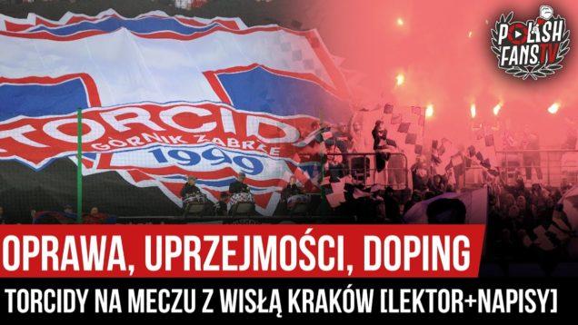 Oprawa, uprzejmości, doping Torcidy na meczu z Wisłą Kraków [LEKTOR+NAPISY] (25.09.2020 r.)