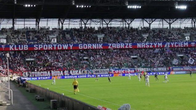 """""""STARA GWARDIA GORNIK ZABRZE"""" – na Górniku w meczu z Lechia Gdańsk w Zabrzu 13.09.2020"""