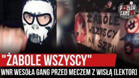 """""""ŻABOLE WSZYSCY"""" – WNR Wesoła GanG przed meczem z Wisłą Kraków (21.09.2020 r.)"""