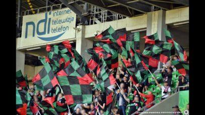 Fortuna 1 liga GKS Tychy- Korona Kielce- doping kibiców