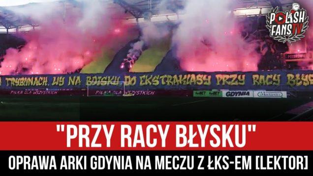 """""""PRZY RACY BŁYSKU"""" – oprawa Arki Gdynia na meczu z ŁKS-em [LEKTOR] (10.10.2020 r.)"""