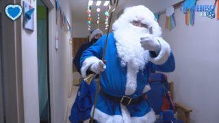 Niebieski Mikołaj w Ośrodku Rehabilitacyjno-Edukacyjno-Wychowawczym w Chorzowie (07.12.2020 r.)