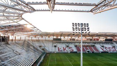 Raport z budowy stadionu ŁKS   Grudzień 2020