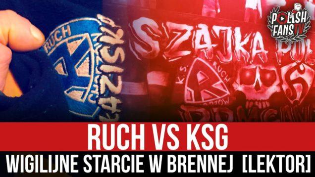 Ruch vs KSG – wigilijne starcie w Brennej [LEKTOR] (19.12.2020 r.)