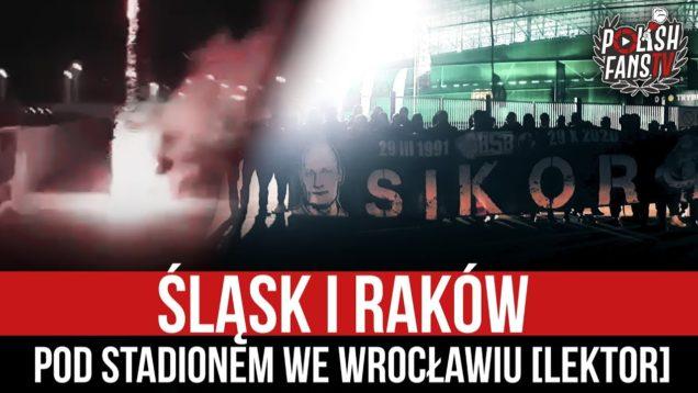 Śląsk i Raków pod stadionem we Wrocławiu [LEKTOR] (05.12.2020 r.)