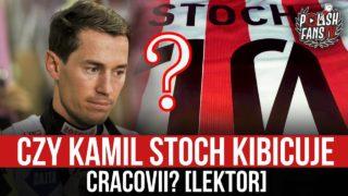 Czy Kamil Stoch kibicuje Cracovii? [LEKTOR] (08.01.2020 r.)