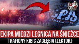 Ekipa Miedzi Legnica na Śnieżce – trafiony kibic Zagłębia [LEKTOR] (16.01.2021 r.)