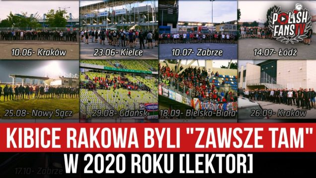 """Kibice Rakowa byli """"ZAWSZE TAM"""" w 2020 roku [LEKTOR] [04.01.2021]"""