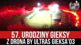 57. urodziny GieKSy z drona by Ultras GieKSa'03 (27.02.2021 r.)