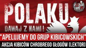 """""""APELUJEMY DO GRUP KIBICOWSKICH"""" – akcja kibiców Chrobrego Głogów [LEKTOR] (17.03.2021 r.)"""