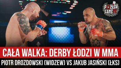 CAŁA WALKA: Derby Łodzi w MMA – Piotr Drozdowski (WIDZEW) vs Jakub Jasiński (ŁKS) (20.02.2021 r.)