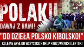 """""""DO DZIEŁA POLSKO KIBOLSKO!"""" – kolejny apel do wszystkich grup kibicowskich [LEKTOR] (06.04.2021 r.)"""
