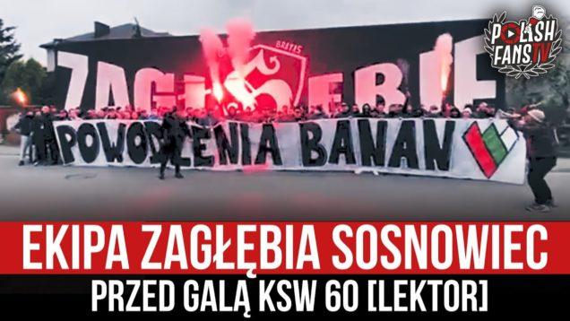 Ekipa Zagłębia Sosnowiec przed galą KSW 60 [LEKTOR] (22.04.2021 r.)
