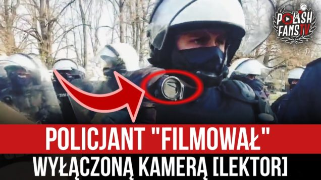 """Policjant """"filmował"""" wyłączoną kamerą [LEKTOR] (10.04.2021 r.)"""