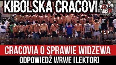 Cracovia o sprawie Widzewa – odpowiedź WRWE [LEKTOR] (23.05.2021 r.)