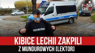 Kibice Lechii zakpili z mundurowych [LEKTOR] (13.05.2021 r.)