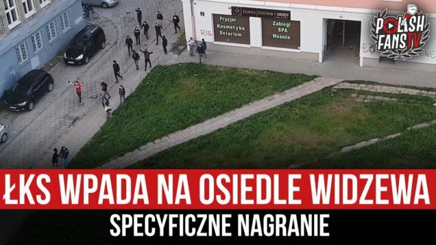 ŁKS wpada na osiedle Widzewa – specyficzne nagranie (20.05.2021 r.)