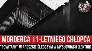 """Morderca 11-letniego chłopca """"powitany"""" w Areszcie Śledczym w Mysłowicach [LEKTOR] (26.05.2021 r.)"""
