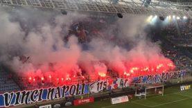 Oprawa Wisły Kraków na meczu z S.S.C. Napoli [LEKTOR] (04.08.2021 r.)