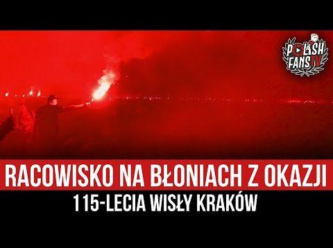 Racowisko na Błoniach z okazji 115-lecia Wisły Kraków (29.08.2021 r.)